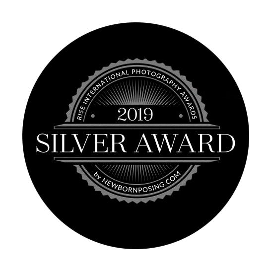 2019 Rise Award Newborn Photography Silver award